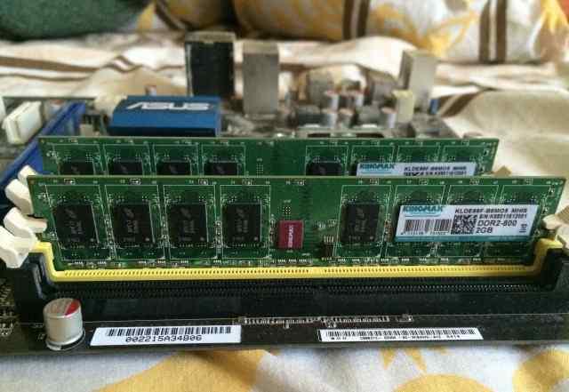 Оперативная память kingmax dimm ddr2 2gb 2 планки