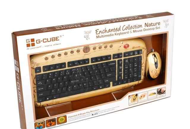 Комплект клавиатура и мышь G-cube gkse-2728N
