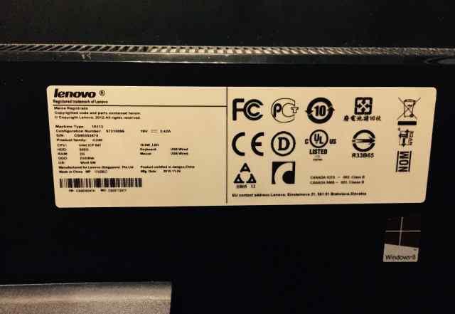 Моноблок Lenovo C240