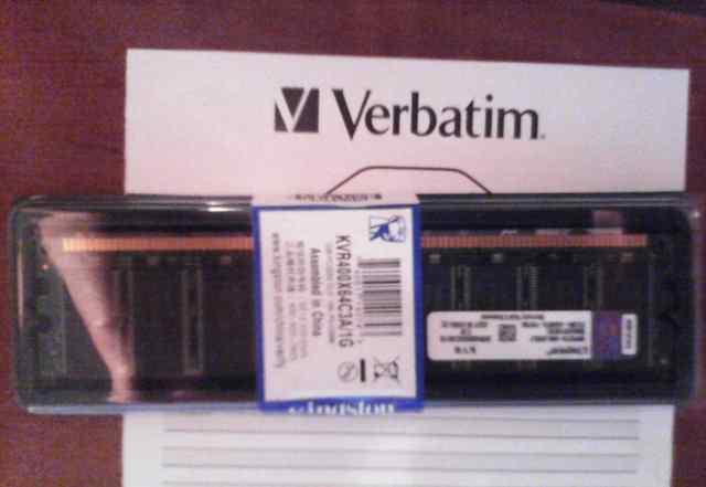 Новая в упаковке DDR pc3200 400MHz 1Gb Kingston