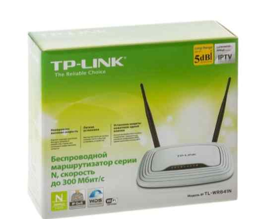 Wi-Fi маршрутизатор TP-link TL-WR841N