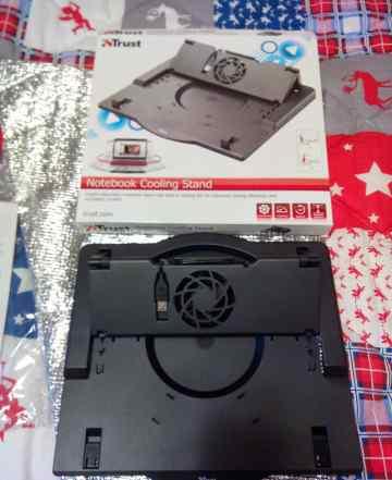 Подставка под ноутбук Trust с кулером по USB новая