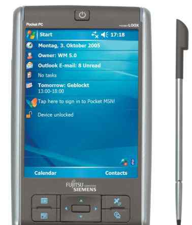 Fujitsu-Siemens Pocket loox N520