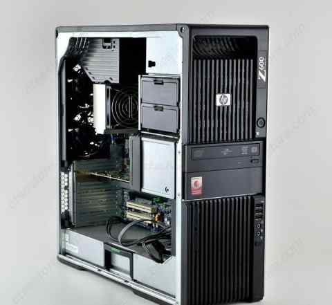 Супер компьютер HP Z600 12 ядер (HT 24 потока)