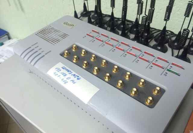 GoIP 16 GSM/VoIP шлюз