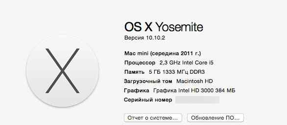 Apple Mac Mini (середина 2011 г.)