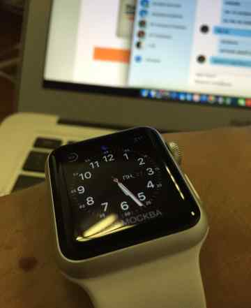 Macbook air 13 2013 года + apple watch 38 sport