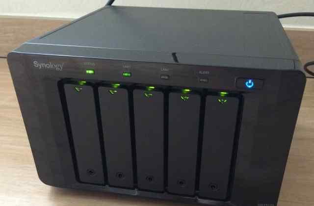 NAS Synology 1512+, сетевое хранилище 5 hdd (NVR)