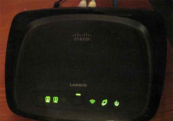 Wi-Fi роутер cisco linksys wrt54g2