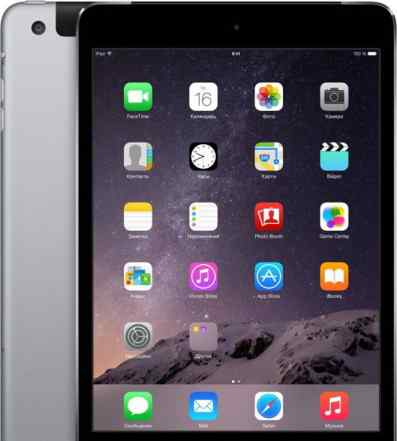 Apple iPad mini 3 64Gb Wi-Fi + Cellular Space Grey