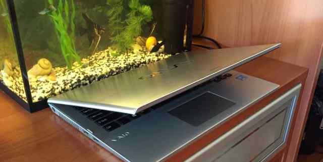 Ноутбук ультра стальной Soni Vayo 13.3 i5 ssd