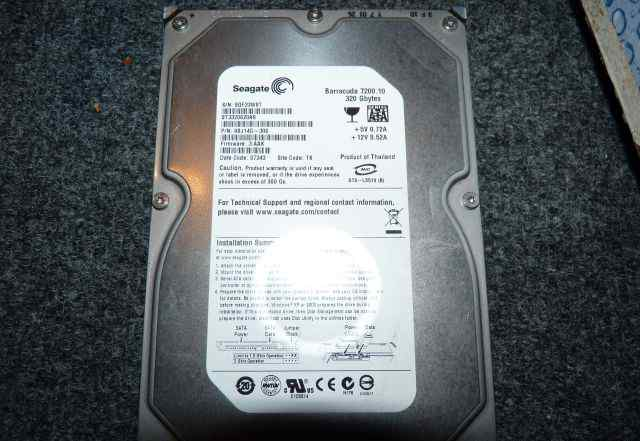 Жесткий диск Seagate ST3320620AS