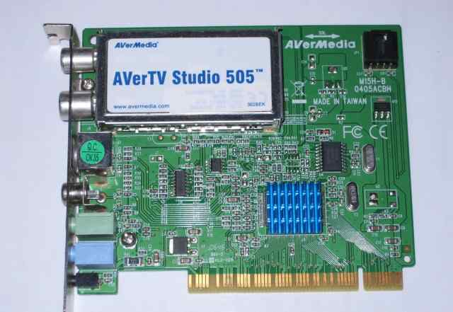 PCI-тюнер Avermedia studio 505