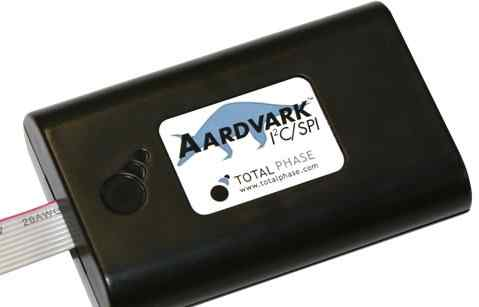 Aardvark i2c/spi host adapter