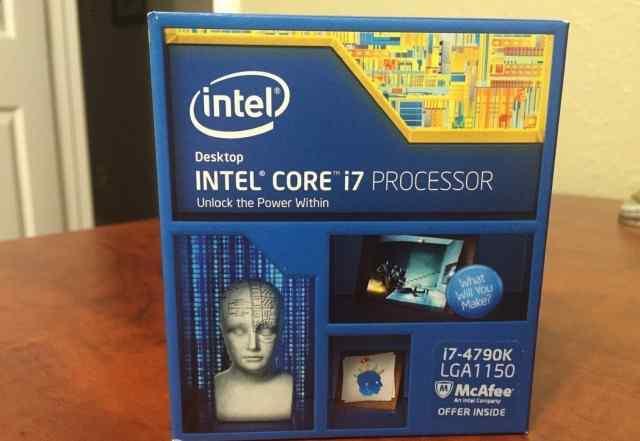 Intel Core i7 4790K в коробках, не вскрывались