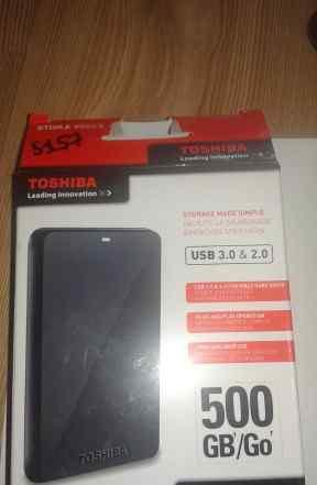 Toshiba 500gb Новый