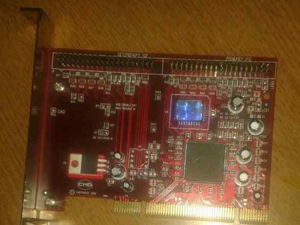 PCI Raid на SIL 0680 (PCI, 2 порта IDE, raid)