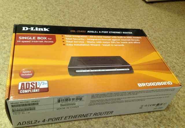 Роутер D-link DSL-2540 U