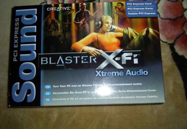 Звуковая карта Creative X-Fi Xtreme Audio PCI-E