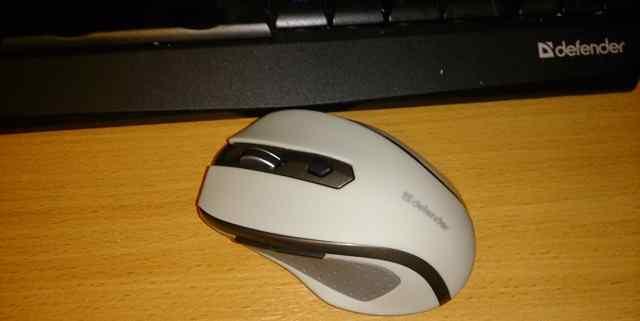 Только распечатанная Беспроводная мышь Defender