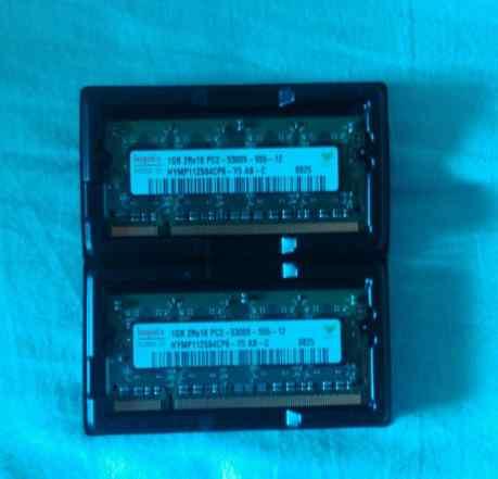 Hynix 2GB 2x1GB DDR2 PC2-5300 667 мгц Sodimm
