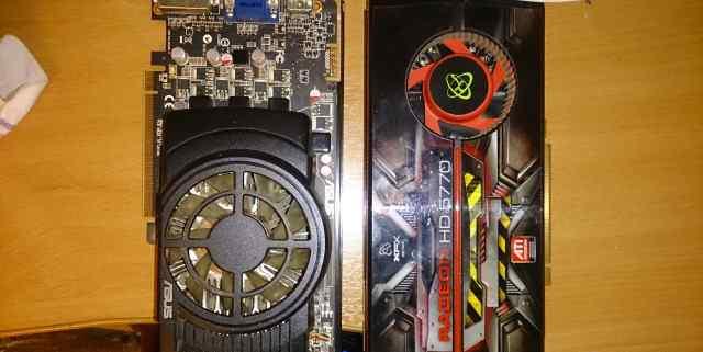 рабочую Radeon HD5770 есть 2 шт asus XFX