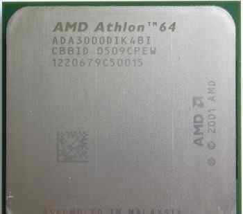 Socket 939 AMD Athlon 64 3000+ (1.8GHz)