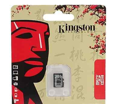 Карта памяти microsd 8GB Kingston class 10