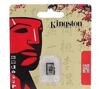 Карта памяти microsd 8GB Kingston class 10