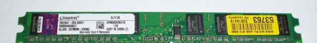 DDR2 Kingston 1 Gb KVR800D2N5 рабочая