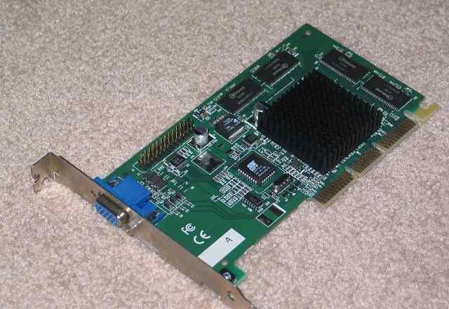AGP видеокарта 512Мб для старого компьютера