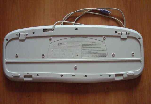 Клавиатура Logitech Deluxe Y-SU61 серая PS/2