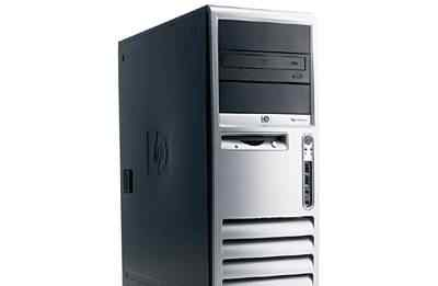 HP DC7600 P4-640 3.2GHz/RAM 512Mb/HDD 40Gb/DVD
