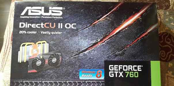 Видеокарта Geforce GTX 760