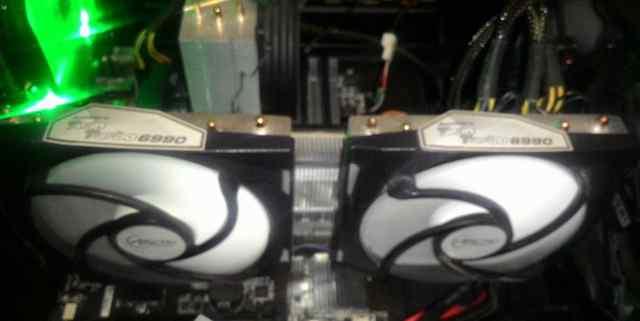Radeon 6990 twin turbo