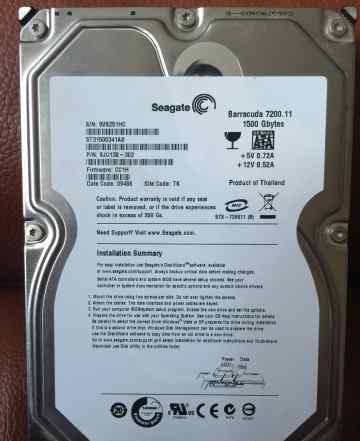 Жесткий диск Seagate barracuda