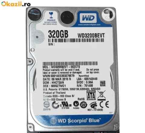 Жёсткий диск WD на 320 гб