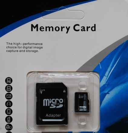 64GB/128GB Micro SD HC карта 10 класс