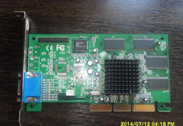 Видеокарта Nvidia GeForce2 MX-400