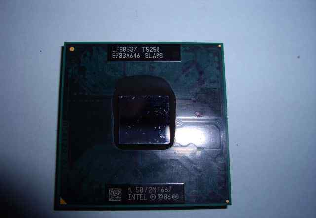 Intel Core Duo Processor T5250  или обменяю