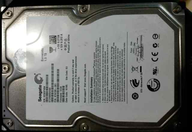 Жесткий диск HDD 1.5 Tb SATA-II 300 Seagate
