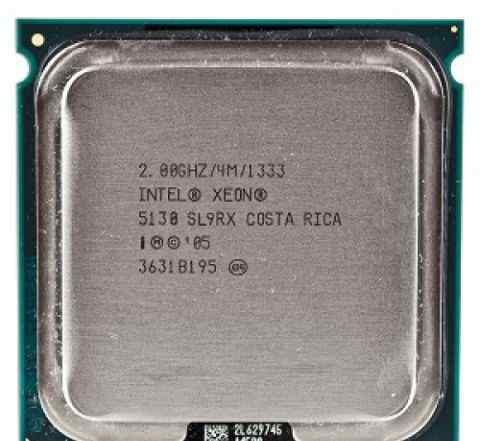 Пара Intel Xeon 5130 dual core 2GHz Socket 771