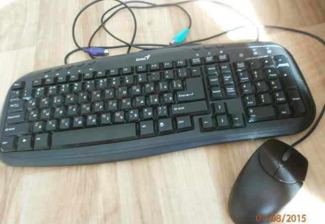 Клавиатура Genius + мышка Genius
