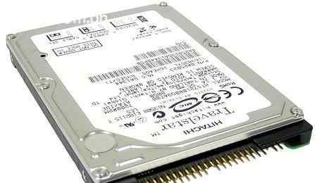 2.5 дюймовый хдд Hitachi 60 гб IDE