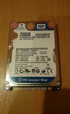 HDD IDE 2.5 250 GB