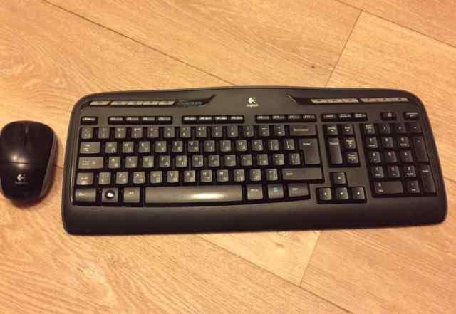 Беспроводной комплект Logitech MK 320 клавиатура +