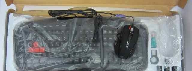 Игровой набор A4tech KX-2810 (клавиатура и мышь)