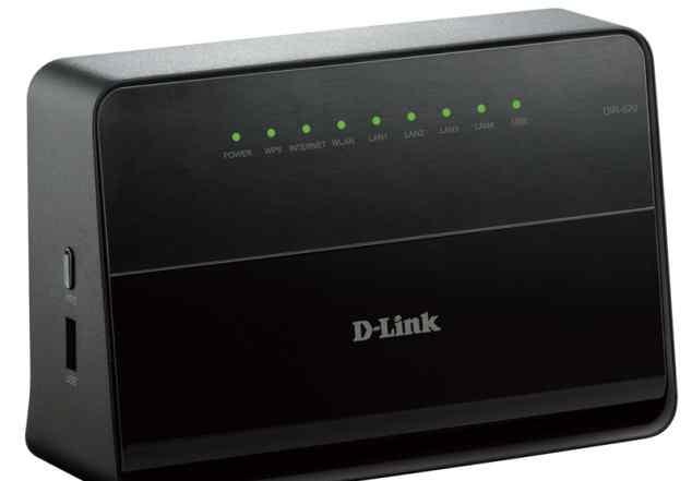 Wi-Fi роутер D-Link DIR-620