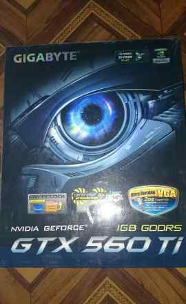 Gigabyte GeForce GTX 560 Ti 822Mhz PCI-E 2.0 1024M
