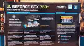 Новая gigabyte GTX750Ti, 2048мб, gddr5, Retail